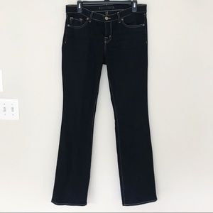 J Brand Black Boot Cut Jeans
